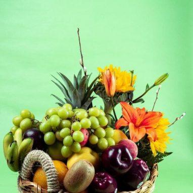 Arreglo Frutal Mixto a Domicilio - Arreglos frutales a domicilio aguascalientes
