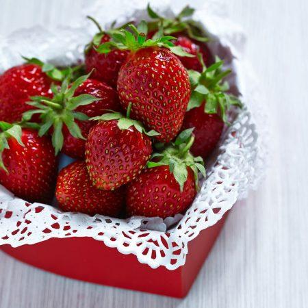Corazón de Fresas