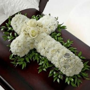 Fúnebre Elegante Cubre Caja