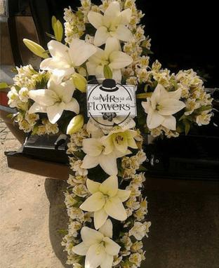 Cruz Fúnebre Mediana Elegante