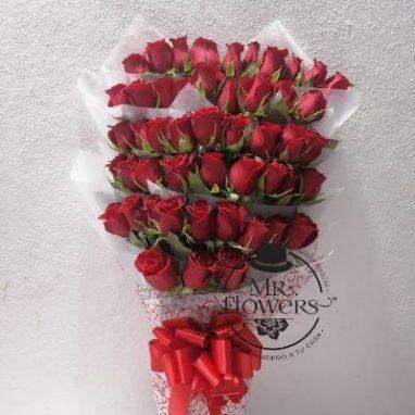 Ramo con 50 rosas Rojas